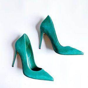 Aldo Shoes Hunter Green Heels